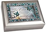 Youll Never Know How Much You Mean to Me Musical Music Jewelry Box - Plays What a Wonderful World