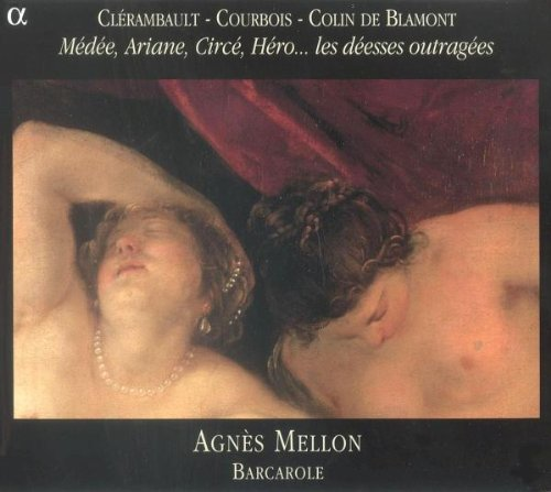 CD : CLERAMBAULT / COURBOIS / MELLON / ENS BARCAROLE - Agnes Mellon Sings