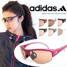 (アディダス)adidas スポーツサングラス a129 レディース UVカット [ テニス ランニング ゴルフ ] サングラス 女性 向