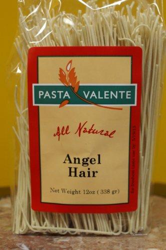 Virginia Gourmet All Natural Angel Hair Pasta-6 PACK-Freshly handmade with Unbleached flour,Eggs, Water