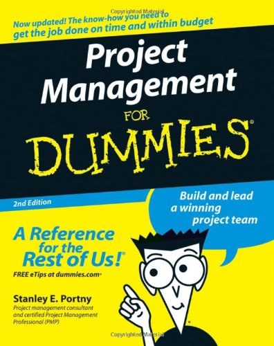 Project Management For Dummies front-21418