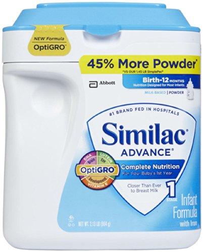 Similac Advance Earlyshield Powder, 34 Ounce - 1