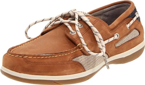 Sebago Women's Castine Boat Shoe,Walnut,7 W US