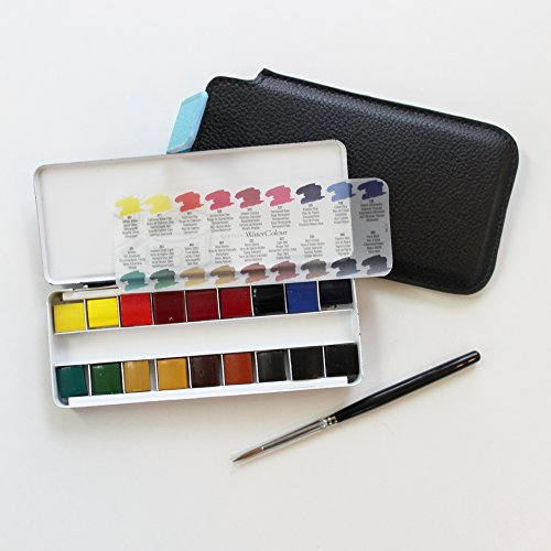 professional-watercolour-quarter-pan-brush-in-travel-pouch