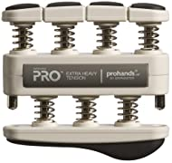 Top Pro Hands X-Heavy Tension Hand & Finger Exerciser - Dark Grey 11lb On sale-image