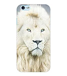ColourCraft Lion Look Design Back Case Cover for APPLE IPHONE 6S