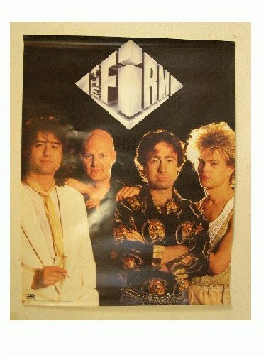 The Firm Band Shot Poster Led Zeppelin Bad Company