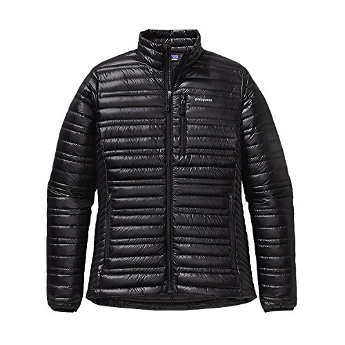 Patagonia, Piumino Donna Ultralight Down, Nero (Black), L