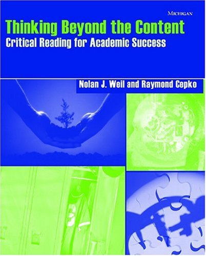 Thinking Beyond the Content: Critical Reading for...