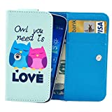 Universal Owl Pattern Leather Case With Card Slots & Wallet For IPhone 6 & 6S / IPhone 5S & 5C, Samsung Galaxy...