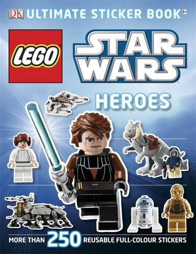 LEGO® Star Wars Heroes Ultimate Sticker Book (DK Ultimate Sticker Books)