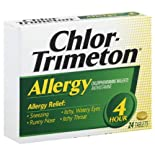 Chlor-Trimeton Allergy, 4 Hour, 24 tablets