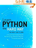 Learn Python the Hard Way: A Very Simple Introduction to the Terrifyingly Beautiful World of Computers and Code (3rd Editi...