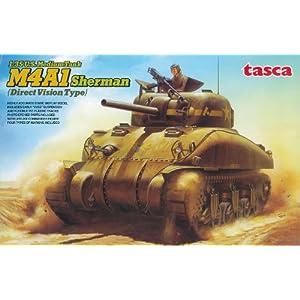 1/35 アメリカ 中戦車 M4A1 シャーマン 初期型 (直視バイザー型)