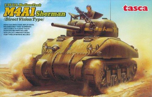 1/35米軍戦車M4A1 シャーマン初期