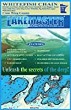 Lakemaster LPMNWHP09-07 Paper Map Whitefish Chain (Crow Wing)