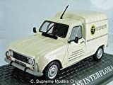 1986 Renault 4 F6 Interflora 1/43Rd Size Model Van Commercial Version R0154X