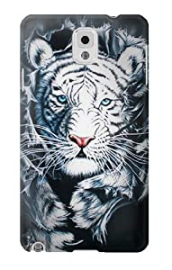 S0265 White Tiger Case Cover for Samsung Galaxy Note 3