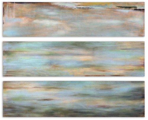 Grace Feyock Horizon View Panel I, II & III Wall Art - 3-Pc Set