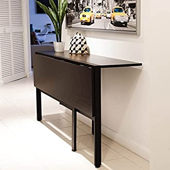 Tokyo Espresso Rectangle Folding Dining Table