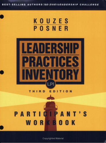 Leadership Practices Inventory (LPI) 3rd Edition (Package: Planner, Workbook, Self Starter, 8 Observers)