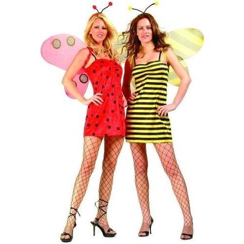 RG Costumes 81527-S 2-In-1 Ladybug And Bumble Bee Reversible Costume - Small