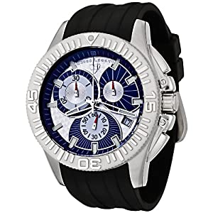 Swiss Legend Men's 50064-03 Evolution Collection Chronograph Rubber Strap Watch