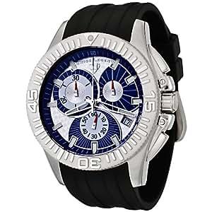 Swiss Legend Men's 50064-03 Evolution Collection Chronograph Rubber Strap Watch