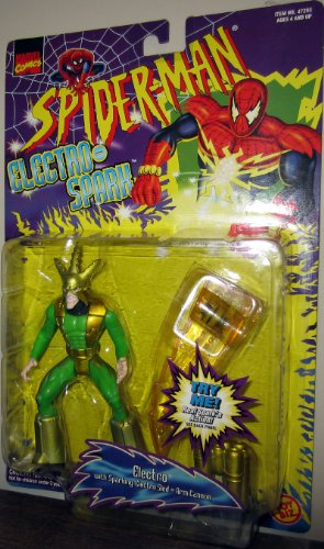 "Spider-Man Electro Spark ELECTRO 5"" with sparking electro sled - 1"