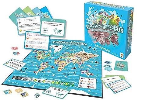 Topi Games - STP-189001 - Sauve Ta Planète - Le Jeu De l'Environnement