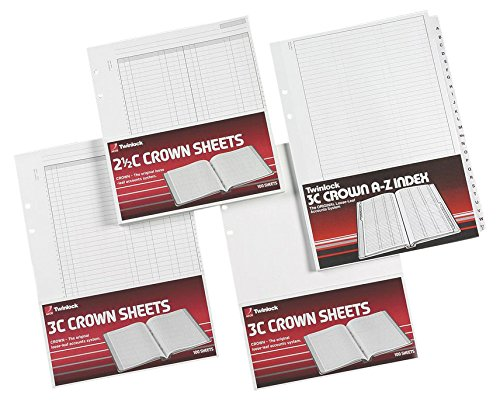 rexel-twinlock-crown-3c-refill-sheets-double-cash-ledger-pack-of-100-sheets