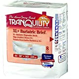 Tranquility® Bariatric Disposable Briefs - XL+ CASE/32