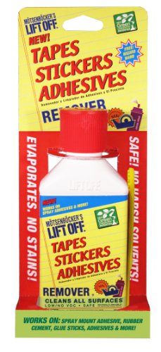 Motsenbockers Lift Off 431-45 #2 Tapes, Sticker & Adhesives Remover