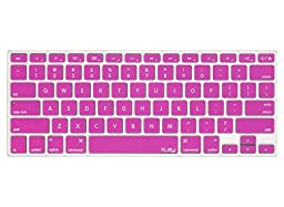 Kuzy - MAGENTA Keyboard Cover Silicone Skin for MacBook Pro 13\