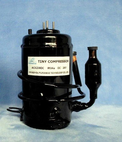 Gowe 12V DC Tiny Compressor for air conditioner, Micro Water Cooling Systems and Refrigeration System