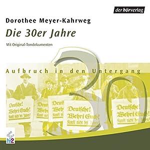 Die 30er Jahre: Aufbruch in den Untergang (Chronik des Jahrhunderts) Hörbuch