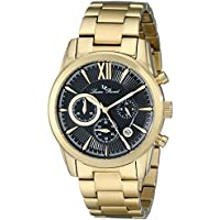Lucien Piccard LP-12356-YG-11 Mens Mulhacen Chronograph Watch