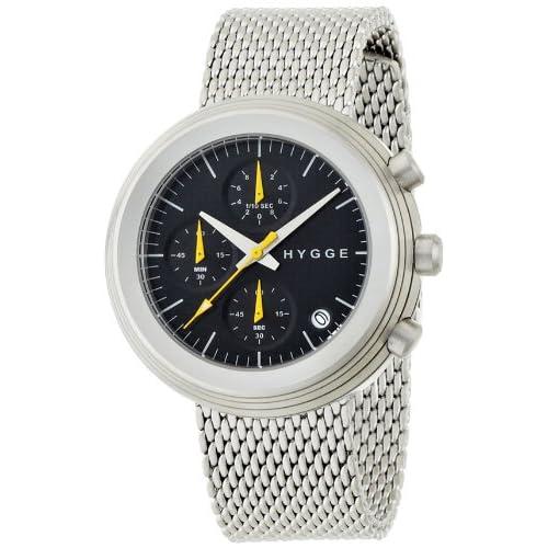 [ヒュッゲ]HYGGE 腕時計 2312 CHRONOGRAPH SERIES MSM2312C(BK) MSM2312C(BK) 【正規輸入品】
