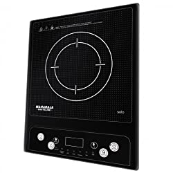 Maharaja Whiteline Solo 1400-Watt Induction Cooktop (Black)