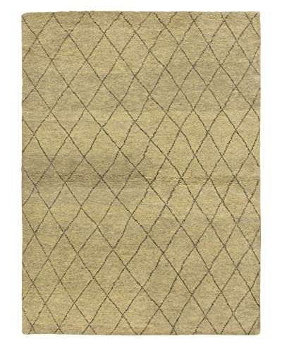 Hand-Knotted Marrakech Rug, Gray, 4' 7 x 6' 11