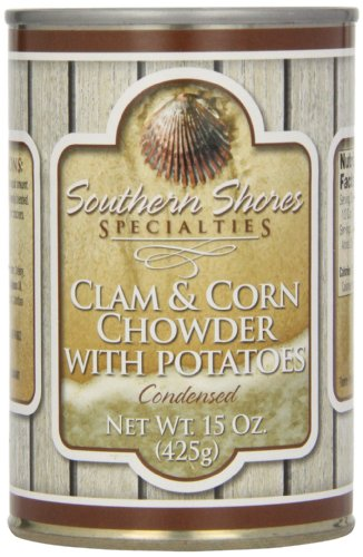 Southern Shores Specialties Clam and Corn Chowder, 15-Ounce Cans (Pack of 4) at Sears.com