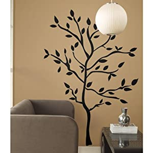 RoomMates RMK1317GM Tree Branches Peel & Stick Wall Decals from RoomMates