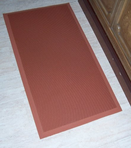The Next Generation Gel-Anti-fatigue Kitchen Mats, Rubberized Gel Foam, new thicker, new edges. 20