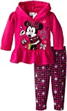 Disney Baby Baby-Girls Infant Disney's Minnie Infant Fleece Legging Set Pink