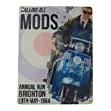 Calling All MODS Metal Sign - Steel, 20 x 15cms
