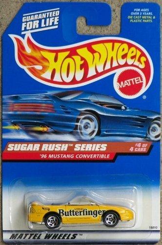 sugar-rush-series-1996-mustang-convertible-4-4-butterfinger-by-mattel