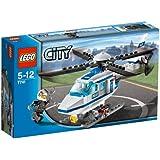 Lego - 7741 - City - Jeux de construction - L'hélicoptère de Police