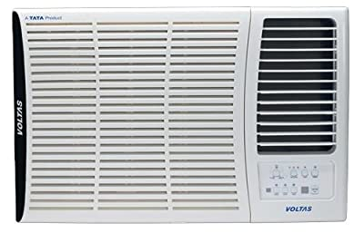 Voltas 183 DY Delux Y Series Window AC (1.5 Ton, 2 Star Rating, White)