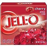JELL-O Gelatin Dessert, Cherry, 3-Ounce