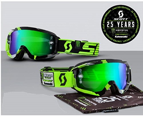 Scott 25th Anniversary Pro Circuit Monster Energy Limited Edition Goggles (Black Monster Energy Stickers compare prices)